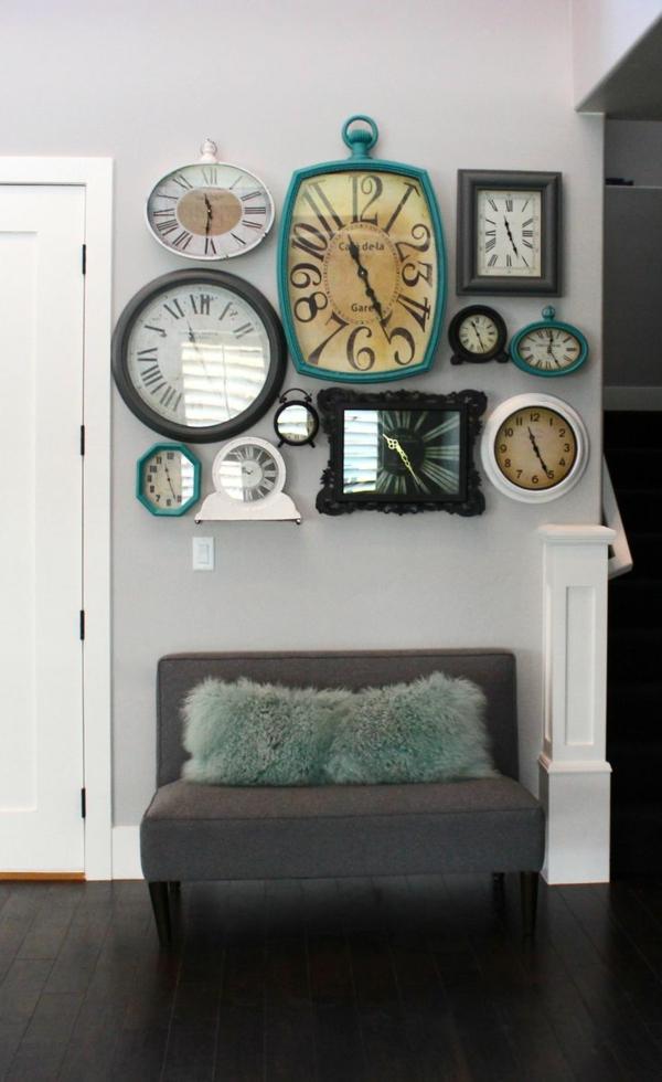 Coole klassisch Wanduhren kunststücke couch