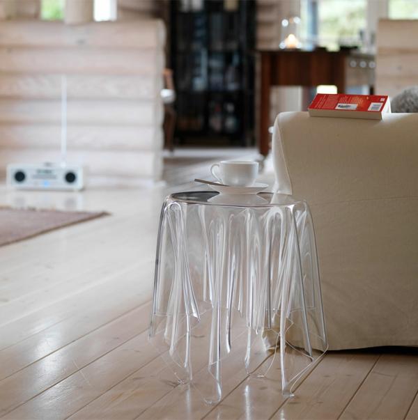 Designer transparent Tische couchtische esstische beistelltisch