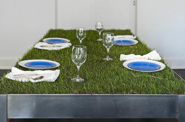 Designer Tische couchtische esstische gras