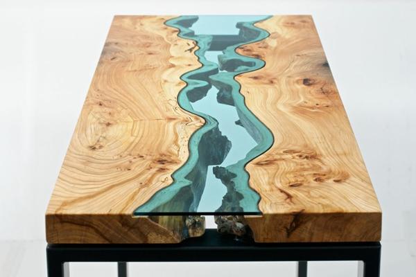 Designer türkis farben Tische couchtische esstische massiv