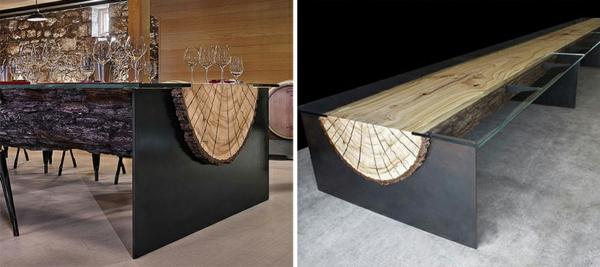 die atemberaubendsten designer tische die sie je gesehen haben. Black Bedroom Furniture Sets. Home Design Ideas