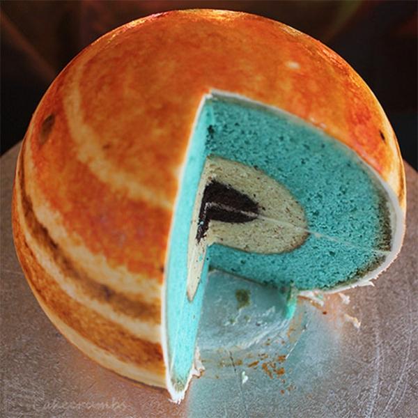 merkur Torten tolle Tortendeko Tortenfiguren planet