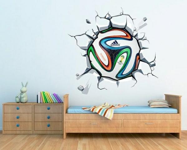 Fussball adidas kinderschlafzimmer Hause fußballfans attraktiv