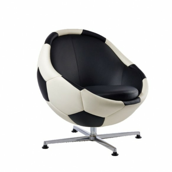 Fussball leder sessel Deko fußballfans bürostuhl