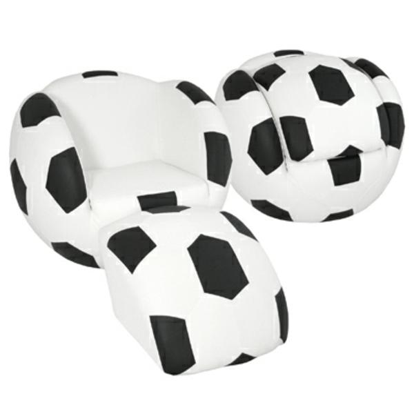 Fussball Deko zu Hause fußballfans sessel