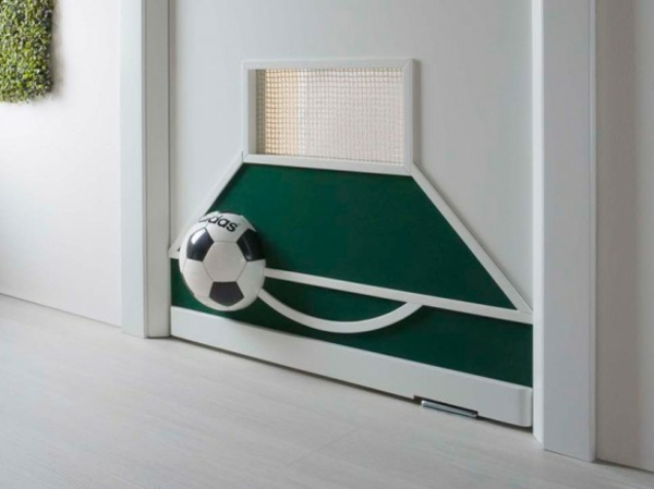 fussball deko zu hause tolle inspiration f r fu ballfans. Black Bedroom Furniture Sets. Home Design Ideas