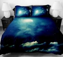 galaxy bettw sche und bettlaken lassen sie unter sternen. Black Bedroom Furniture Sets. Home Design Ideas