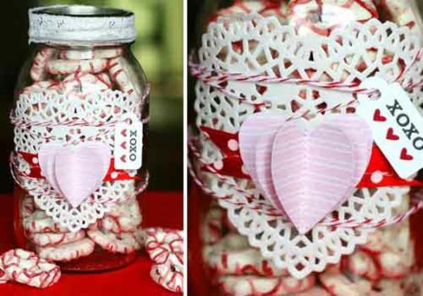 Geschenke originell verpacken lustig kreativ glas
