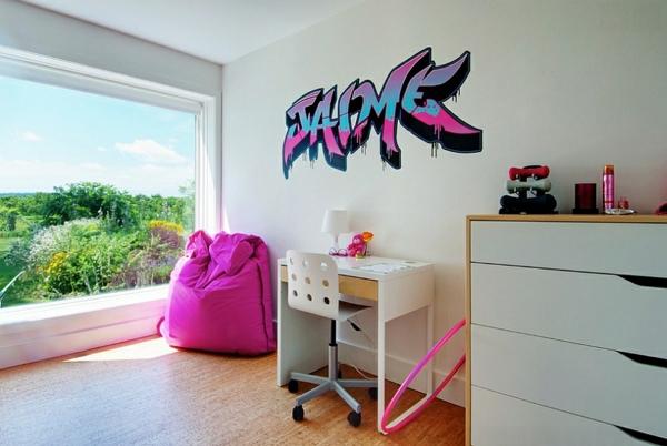 Graffiti Wand zu Hause möbel texturen