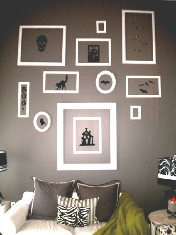 gruselige halloween deko basteln. Black Bedroom Furniture Sets. Home Design Ideas