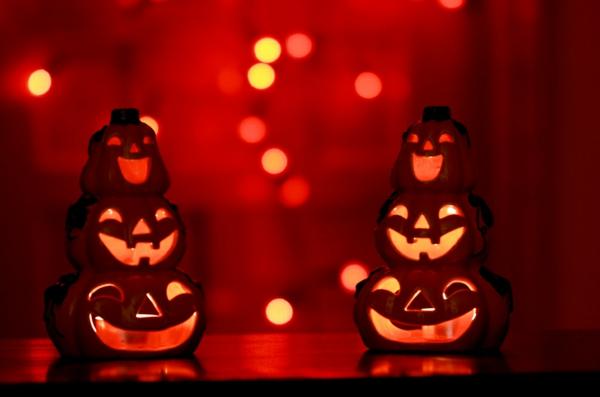 Halloween Deko jolly jack laternen
