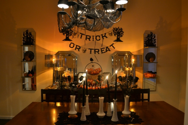 Halloween keramisch vasen Ideen süßes oder saures