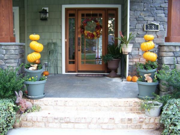 Deko Ideen symmetrisch Halloween festlich