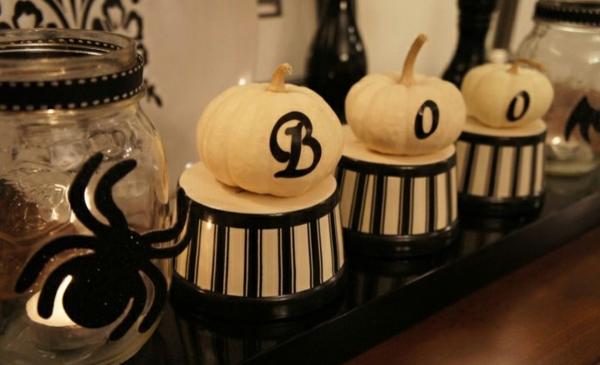 Halloween Deko Ideen thematisch gruselig
