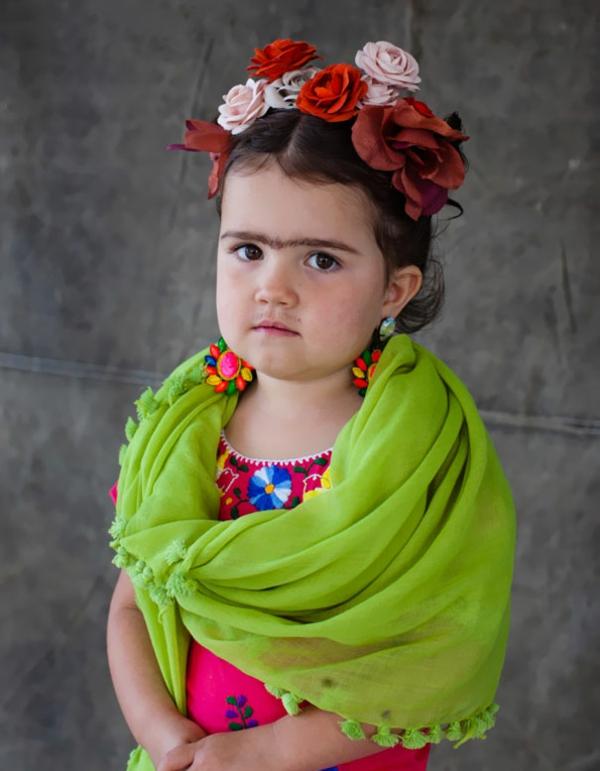 Halloween Kinderkostüme designs festlich frida kahlo