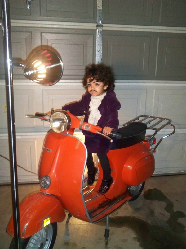 Halloween motorrad Kinderkostüme designs festlich prince