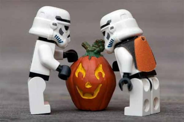 Horror Halloween roboter Bilder star wars