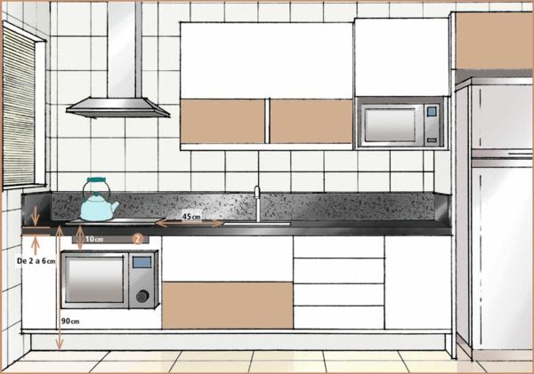 küchenzubehör Küchengeräte virtuell anordnung