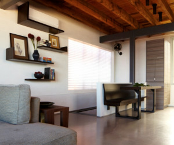 klimaanlagen im innendesign interessant integrieren. Black Bedroom Furniture Sets. Home Design Ideas