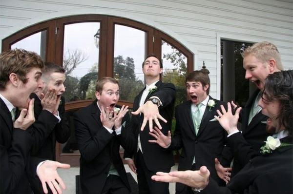 Lustige die jungen Hochzeitsfotos Idee komisch