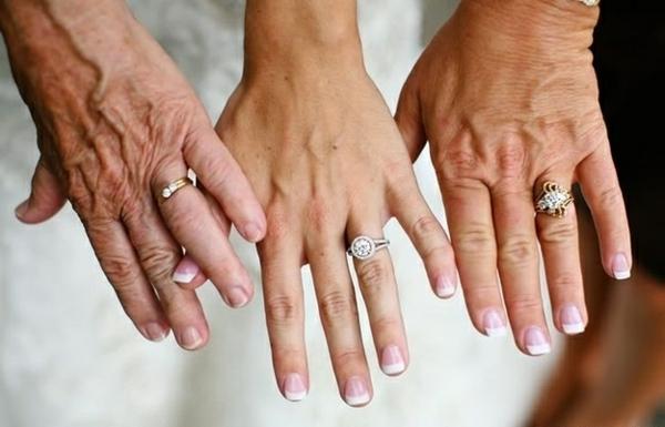 Lustige Hochzeitsfotos Ideen drei alter