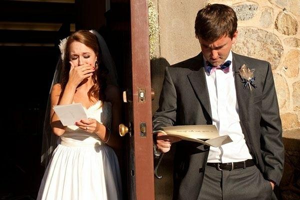 Lustige tolle Hochzeitsfotos Ideen liebesbrief