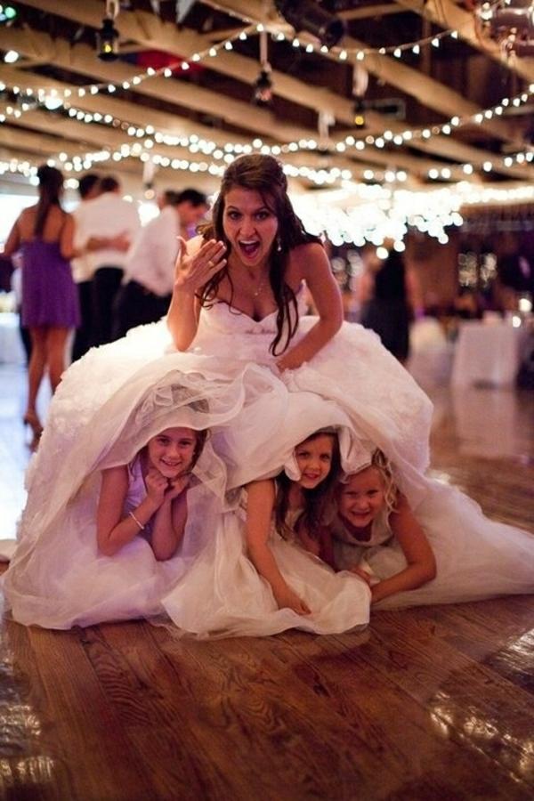 kunstvoll Hochzeitsfotos Ideen mädchen