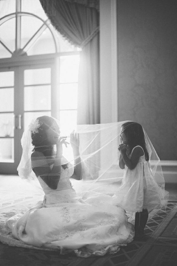 Lustige Hochzeitsfotos Ideen schleier