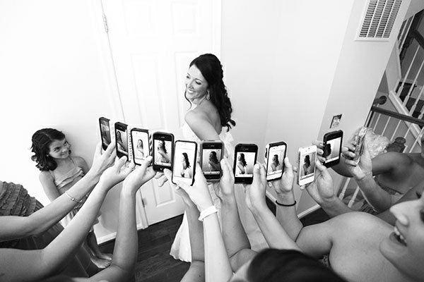 schwarz weiß bilder Hochzeitsfotos Ideen toll