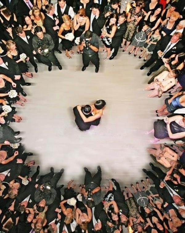 Hochzeitsfotos Ideen von oben