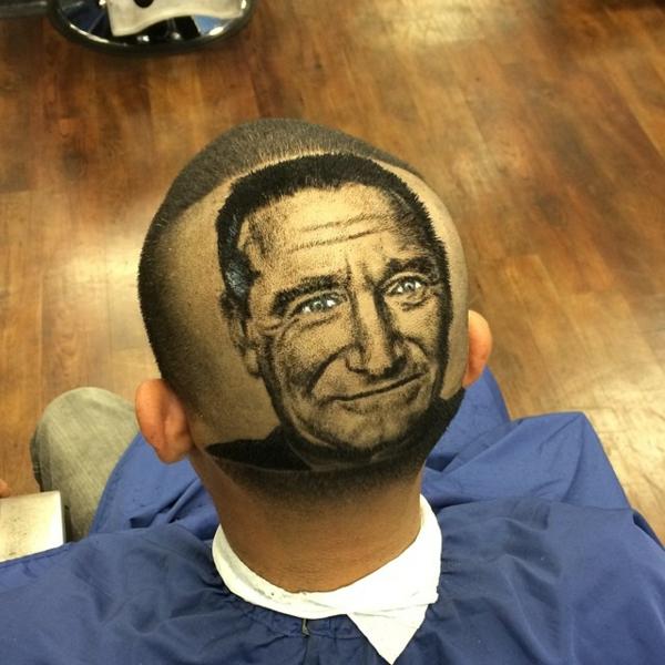 Männer Frisuren Ideen gemälde black man