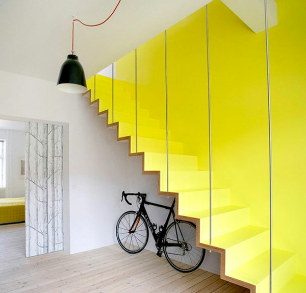 moderne innentreppen aus holz in 50 interieurs - 2015-07-28, Wohnzimmer dekoo
