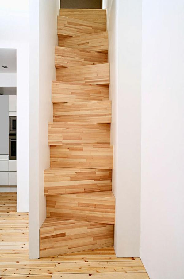 eng raum Innentreppen aus Holz Stahl textur