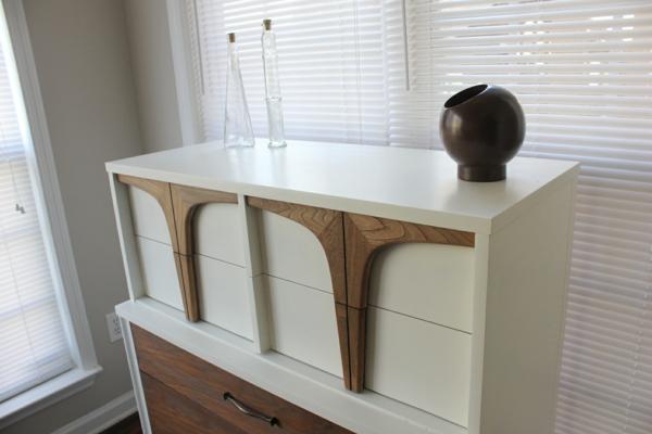 Moderne Wohnzimmerschränke  Sideboards aus Birkenholz elegant