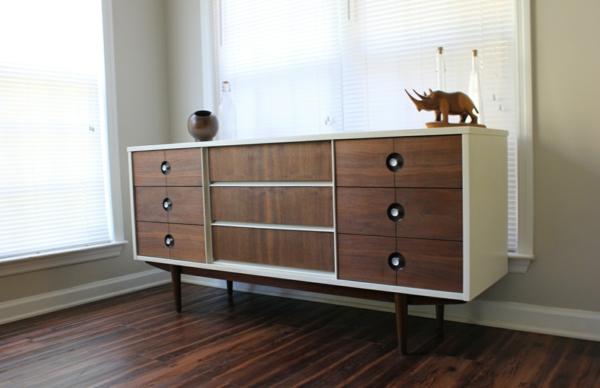 gleittüren Wohnzimmerschränke Sideboards aus Birkenholz