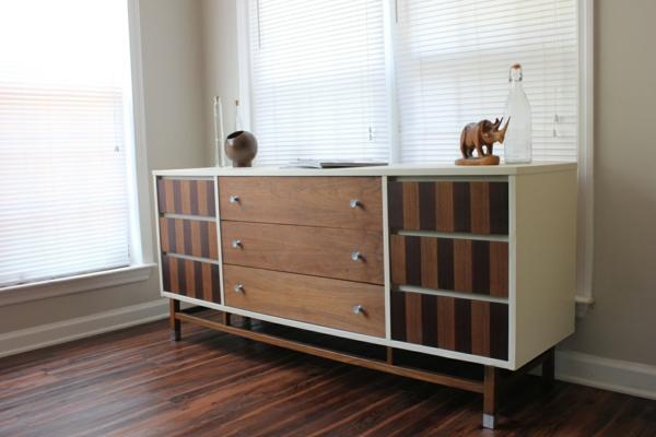 bodenbelag holz Wohnzimmerschränke Sideboards aus Birkenholz toll