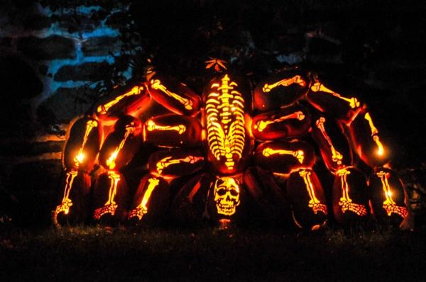 Riesige Schnitzvorlagen Halloween laternen