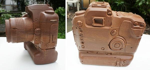 Schokoladen Formen kunstvoll ideen design foto