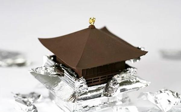 Schokolade Formen kunstvoll ideen design haus