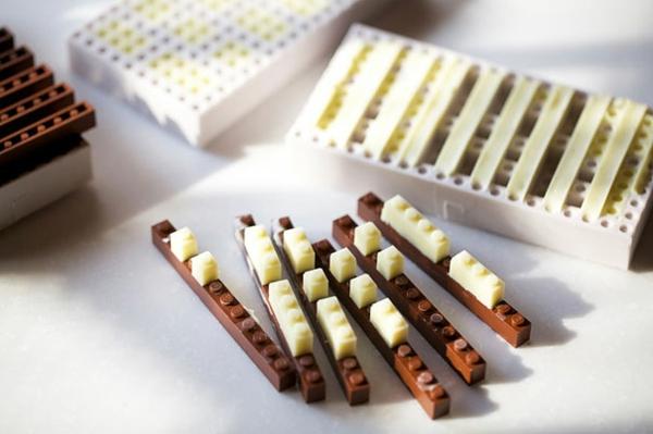 Schokoladen kinderspiel Formen kunstvoll ideen design schreibstift