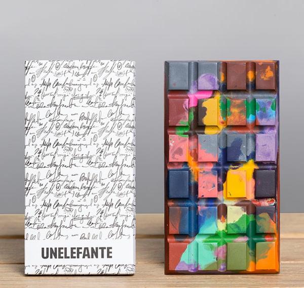 Schokolade Formen kunstvoll ideen design tafel