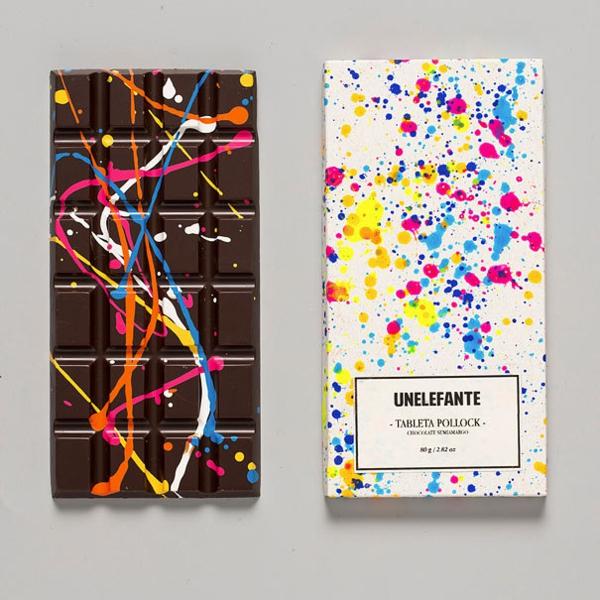 Schokoladen kunstvoll ideen design verpackung