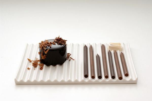 Schokoladen schön Formen kunstvoll ideen design