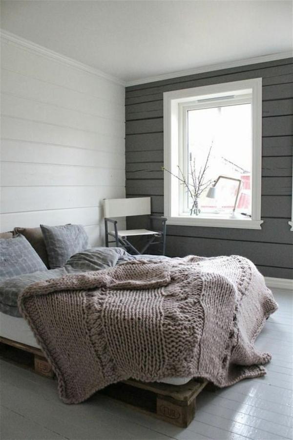 Strickwaren Deko gestrick schlafzimmer