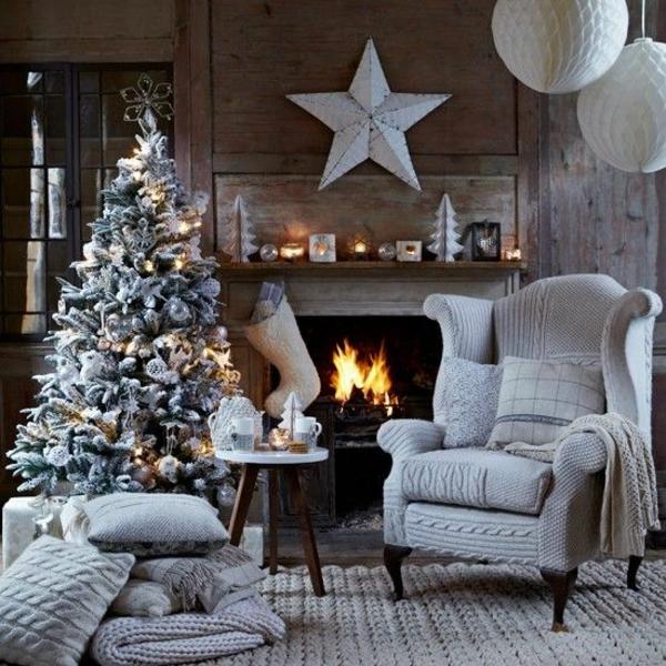 Strickwaren als Deko gestrick weihnachten