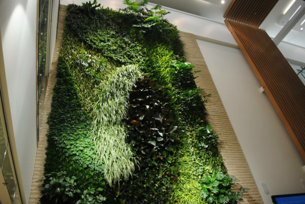 Wanddeko mit pflanzen livepicture erfrischt das ambiente for Design mit pflanzen