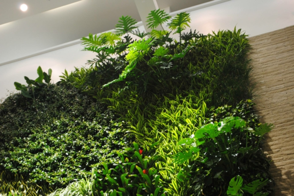 Wanddeko Pflanzen wandgestaltung ideen