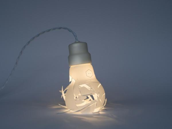 Zerbrochene Designer Lampen glühbirnen idee