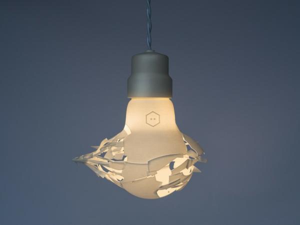 Zerbrochene Designer Lampen glühbirnen