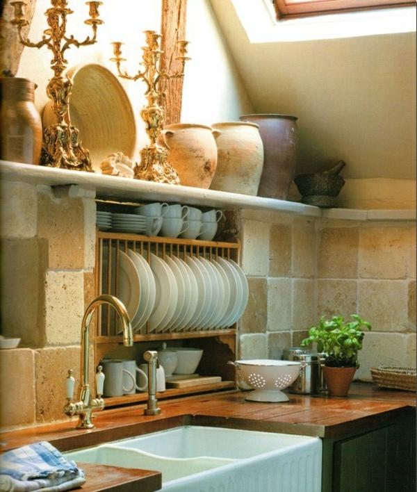 Antike küchenmöbel  Küchengestaltung im Landhausstil